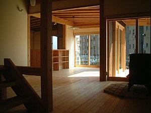 平須の家(H邸)~2006年竣工写真