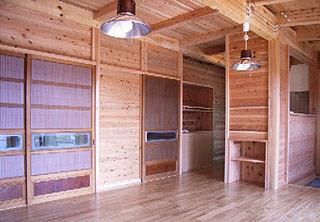 広間の台所
