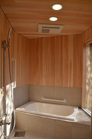 広めの浴室