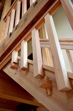 階段部分の詳細