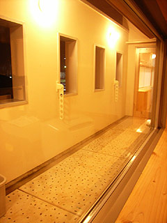 2階バルコニー。