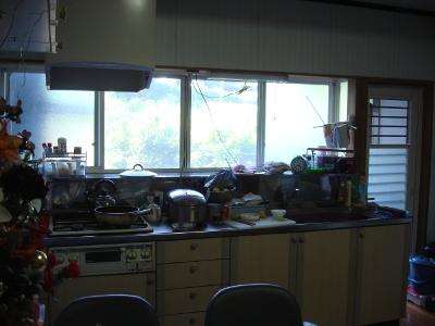 改修前のダイニングキッチン