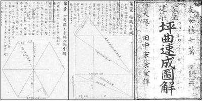 友安藤七著「家屋建築 坪曲速成図解」(田中宋栄堂 1914) より