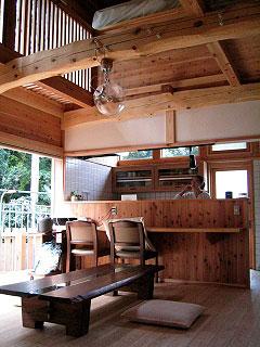 居間と台所
