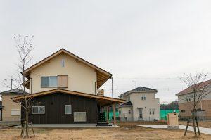 春風台の家(K邸)外観
