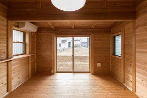 春風台の家(K邸)寝室